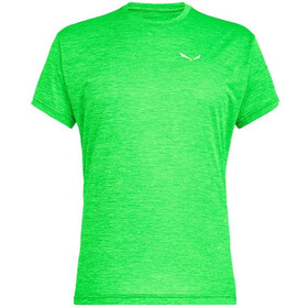 SALEWA Puez Melange Dry Camiseta Manga Corta Hombre, verde